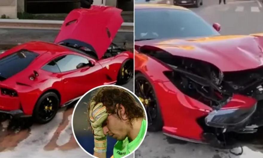Υπάλληλος πλυντηρίου αυτοκινήτων τράκαρε τη Ferrari του Μαρκέτι! (vid