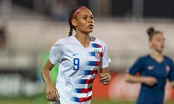 Η κόρη του Ρόντμαν παίζει ποδόσφαιρο και επιλέχθηκε στο Νο2 του draft