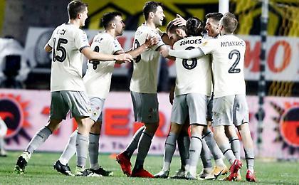 Super League 1: Άλμα της ΑΕΚ στη 2η θέση