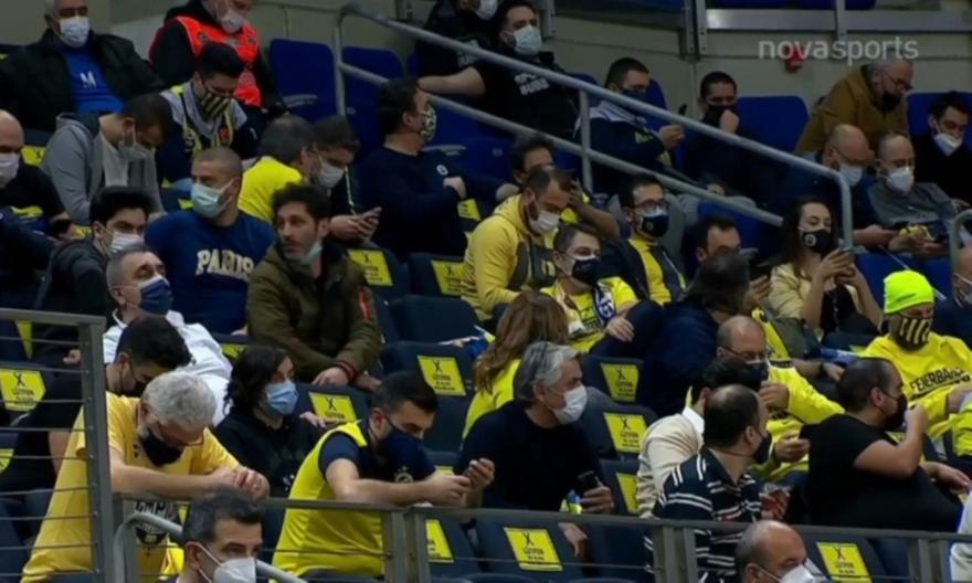 Με κόσμο στην εξέδρα το Φενέρ-Παναθηναϊκός! (video)