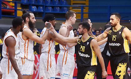 Basket League: Εξ αναβολής ντέρμπι ΑΕΚ-Προμηθέας
