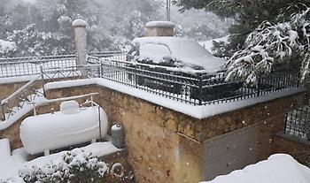 Χωρίς ρεύμα περιοχές στην Ανατολική Θεσσαλονίκη λόγω της επέλασης του χιονιά