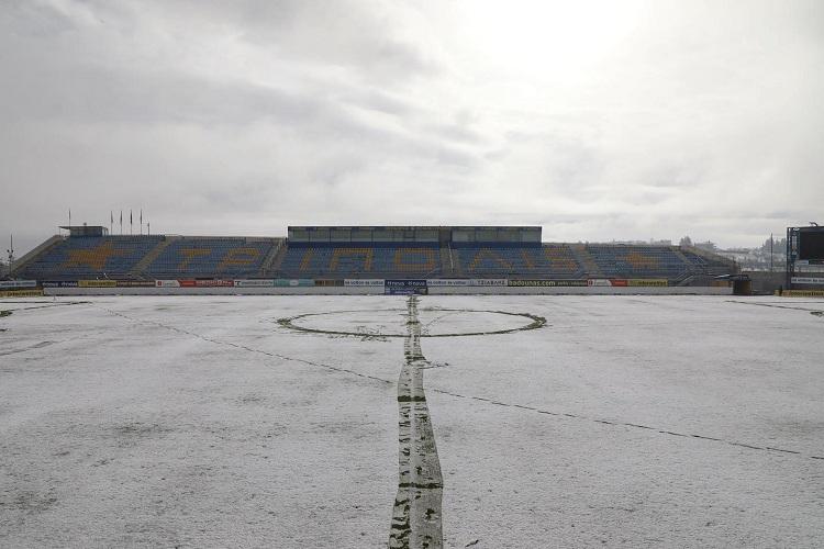 Στα χιόνια το «Θ.Κολοκοτρώνης» λίγες ώρες πριν το Αστέρας-Παναιτωλικός (pics)