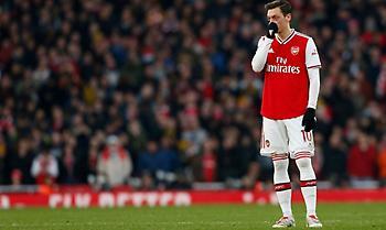 Athletic: «Υπέγραψαν τη λήξη της συνεργασίας τους Οζίλ-Άρσεναλ»