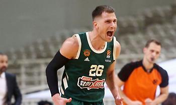 MVP της εβδομάδας ο Νέντοβιτς στην Euroleague