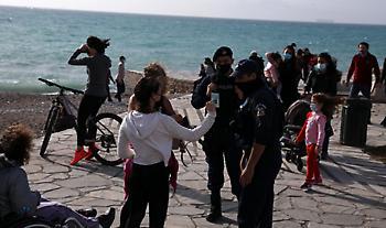 Χάρτης κορωνοϊόυ στην Ελλάδα: 215 κρούσματα σε Αττική, 67 Θεσσαλονίκη