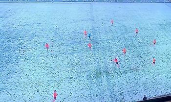 Οι παίκτες της Σίβασπορ… εξαφανίστηκαν: Έπαιζαν με λευκά στα χιόνια! (pic)