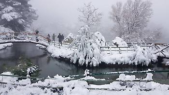 Καιρός: Στην «κατάψυξη» και σήμερα η χώρα - Συνεχίζονται οι χιονοπτώσεις