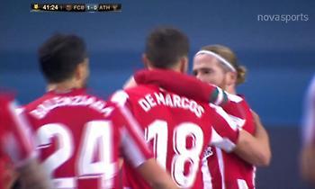 Δύο γκολ μέσα σε ένα τρίλεπτο στο Μπαρτσελόνα-Μπιλμπάο (vids)