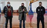 Επίσκεψη Θωμαΐδη, Φυσεντζίδη στην προετοιμασία της Προολυμπιακής ομάδας ταεκβοντό