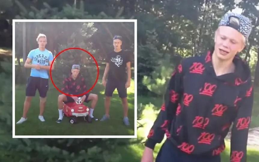 Ο Χάαλαντ ήταν μέλος boy band το 2016! (video)
