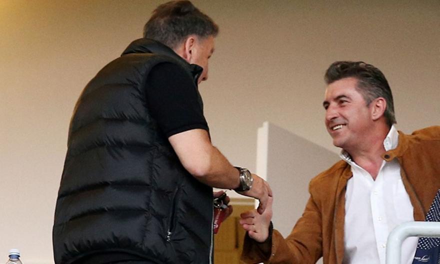 Στηρίζει την υποψηφιότητα Ζαγοράκη στην ΕΠΟ ο Κούγιας