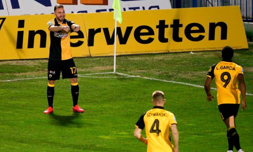 Βραβεύτηκε το γκολ του Τάνκοβιτς με απευθείας κόρνερ (pic)