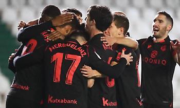 Στους «16» του Copa del Rey με «καυτό» Ζοσέ η Σοσιεδάδ