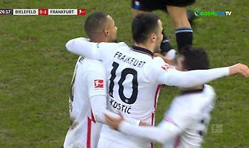 Τρομερό γκολ με μακρινό σουτ ο Κόστιτς (video)