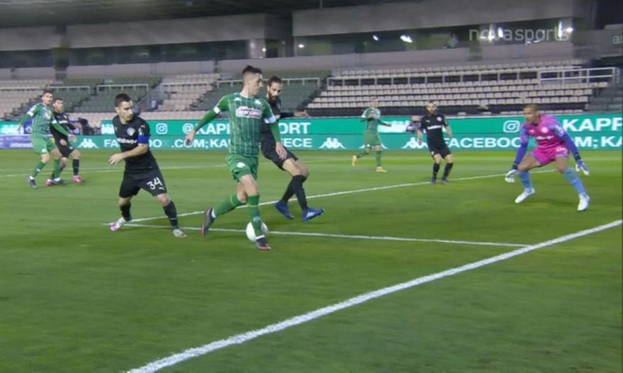 Ο Αλεξανδρόπουλος «έφτιαξε» το 2-0 για τον Καμπετσή (video)