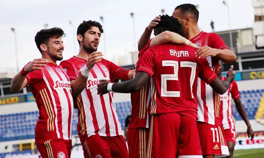 Ατρόμητος-Ολυμπιακός 0-1