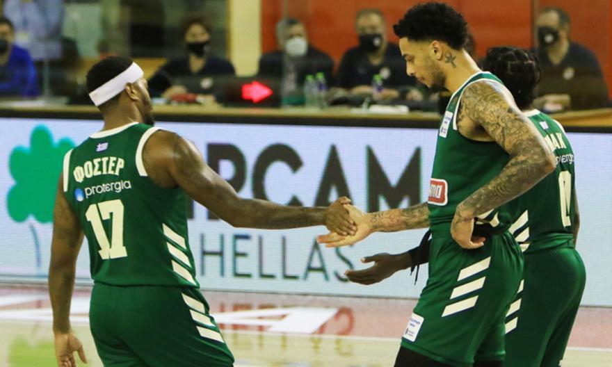 Basket League: Μόνος πρώτος ο Παναθηναϊκός