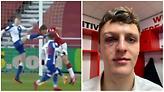 Για ένα χιλιοστό σώθηκε το μάτι παίκτη της Μίντλεσμπρο από βίαιο μαρκάρισμα