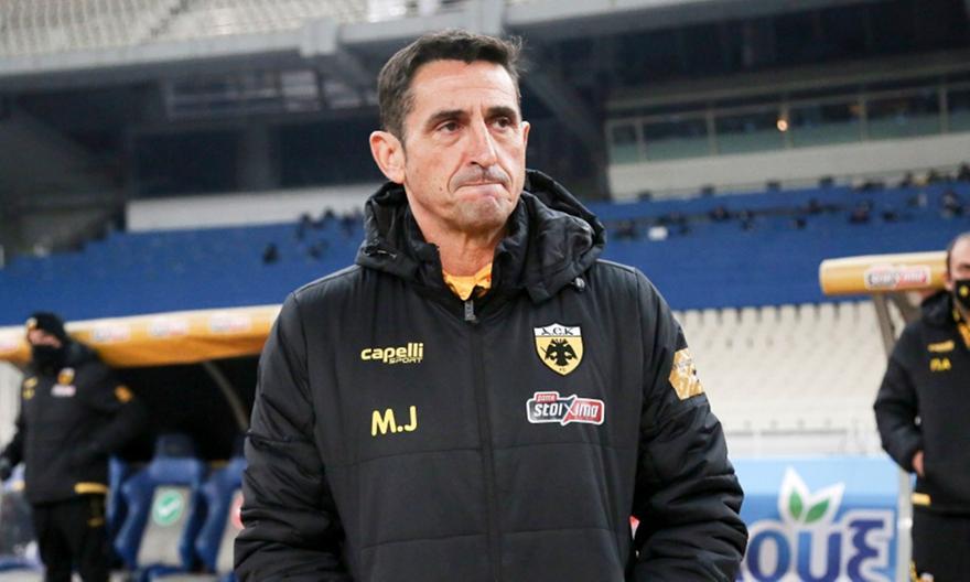 Χιμένεθ στους παίκτες της ΑΕΚ: «Από δικά μας λάθη δεν κερδίσαμε»