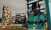 Εντυπωσιακό γκράφιτι του Βασίλη Χατζηπαναγή στη Θεσσαλονίκη (pic)