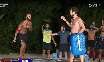 Survivor: Τα πήρε στο «κρανίο» ο Κονδυλάτος με τον Καλλίδη (video)
