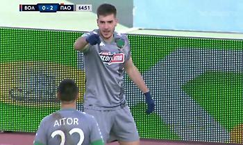 Το 2-0 για τον Παναθηναϊκό με γκολ του Ιωαννίδη (video)