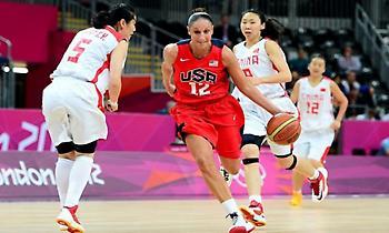 Οι όμιλοι για το Ολυμπιακό τουρνουά μπάσκετ γυναικών