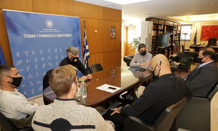 Γκαγκαλούδης: «Η ΕΟΚ δεν έχει στείλει ποτέ αίτημα επανέναρξης»