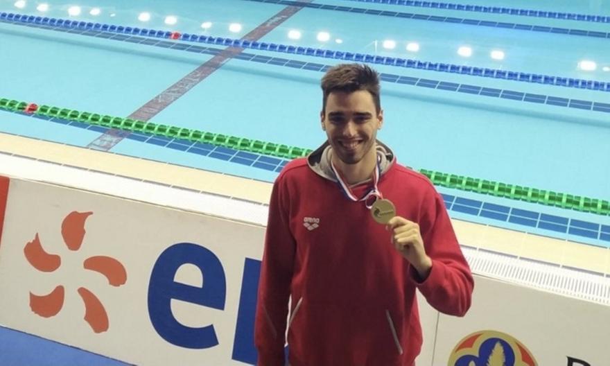 Τρία μετάλλια για τους κολυμβητές μας στη Γαλλία