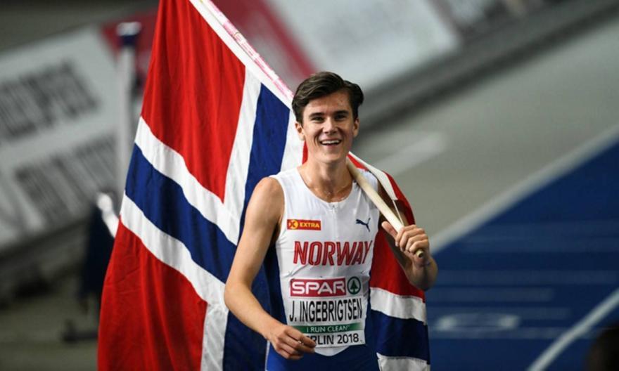 Νέο ευρωπαϊκό ρεκόρ από Ινγκεμπρίγκτσεν στα 1.500 μέτρα