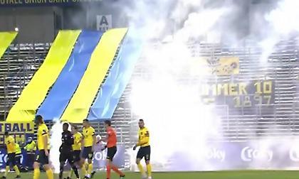 Απίστευτο: Διεκόπη παιχνίδι... κεκλεισμένων των θυρών στο Βέλγιο λόγω καπνογόνων!