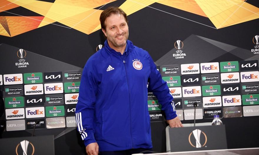 Ολυμπιακός: Προανήγγειλε μετρημένες αλλαγές με PSV ο Μαρτίνς