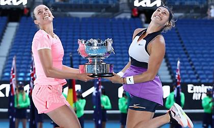 Μέρτενς και Σαμπαλένκα νικήτριες στο διπλό γυναικών