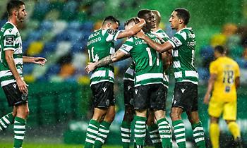Χαλαρή νίκη και στο +13 η Σπόρτινγκ Λισαβόνας
