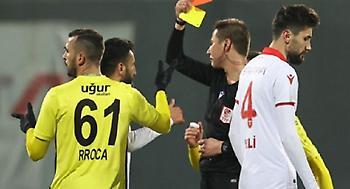 Χαμός στην Τουρκία: Αποβλήθηκε παίκτης με… μία κίτρινη κάρτα!