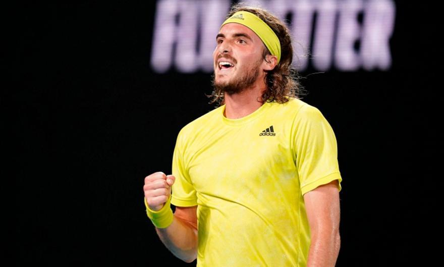 Σταθερά έκτος ο Τσιτσιπάς στην ATP μετά το Αυστραλιανό