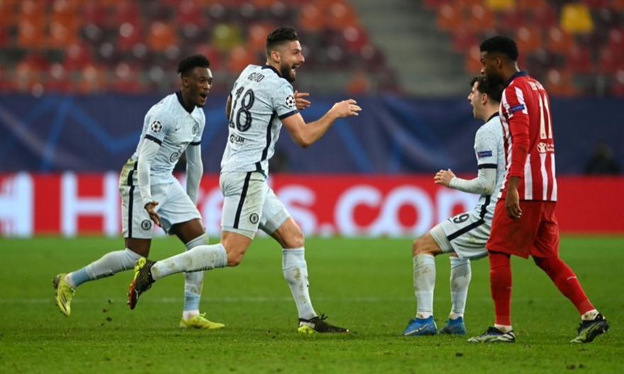 Ατλέτικο Μαδρίτης-Τσέλσι 0-1