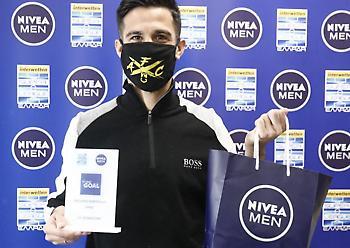 Ο Μπερτόλιο παρέλαβε το βραβείο για το Best Goal της 15ης αγωνιστικής