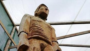 Την άνοιξη στη Λεωφόρο το άγαλμα του Γιώργου Καλαφάτη