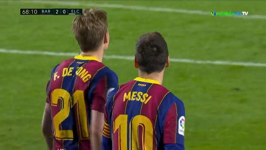 Ο Ντε Γιονγκ «σέρβιρε» στον Μέσι το 2-0