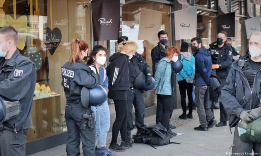 Κατάληψη του ελληνικού προξενείου στο Βερολίνο για Κουφοντίνα