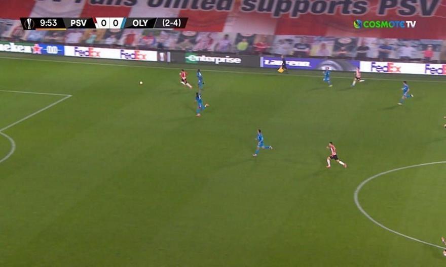 Αϊντχόφεν-Ολυμπιακός: Πρώτη καλή στιγμή για την PSV
