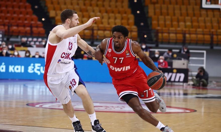 Ολυμπιακός-ΤΣΣΚΑ 74-75
