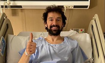 To μήνυμα του Γιουλ μετά το χειρουργείο (pic)