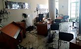 Αυγενάκης για την επίθεση στο γραφείο του: «Η κυβέρνηση ούτε τρομοκρατείται, ούτε εκβιάζεται»
