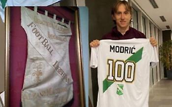 Ο Μόντριτς πήγε στο Μπέργκαμο και δεν ξέχασε την Ιμακουλάτε Αλτσάνο (pics)