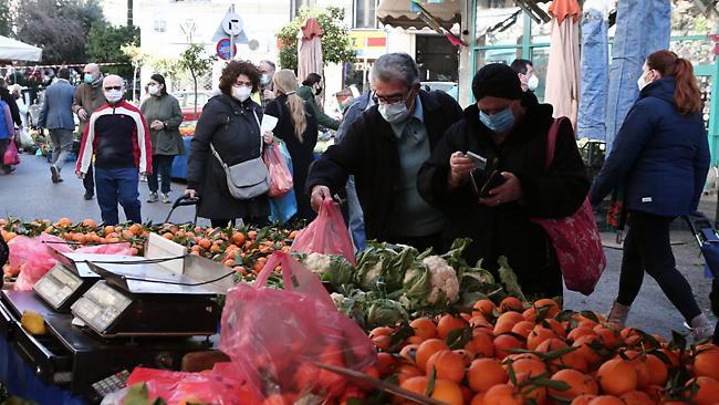 Ανοιχτές ξανά οι λαϊκές αγορές τα Σαββατοκύριακα