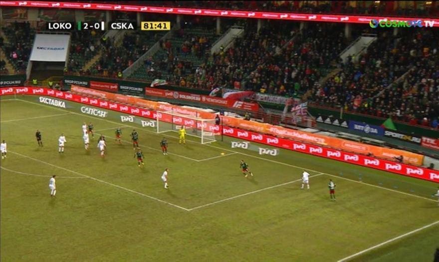Παρ' το αλλιώς: Ο Βλάσιτς κλότσησε μαζί με τη μπάλα και το σημαιάκι του κόρνερ! (video)