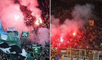 Παναθηναϊκός-ΑΕΚ: Τα τρία απούλητα εισιτήρια και το τελευταίο ντέρμπι με οπαδούς και των δύο